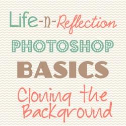 Photoshop Basics: Clone Backgrounds