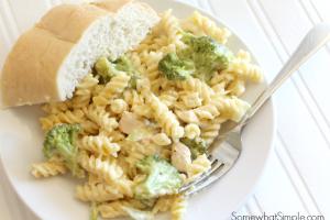 cheesy chicken broccoli bake 3