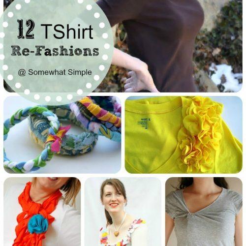 t shirt refashions