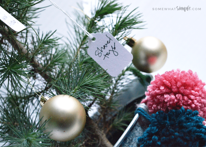 Holiday Decor | A SEASON OF SERVICE – THE GIVING TREE by Somewhat Simple