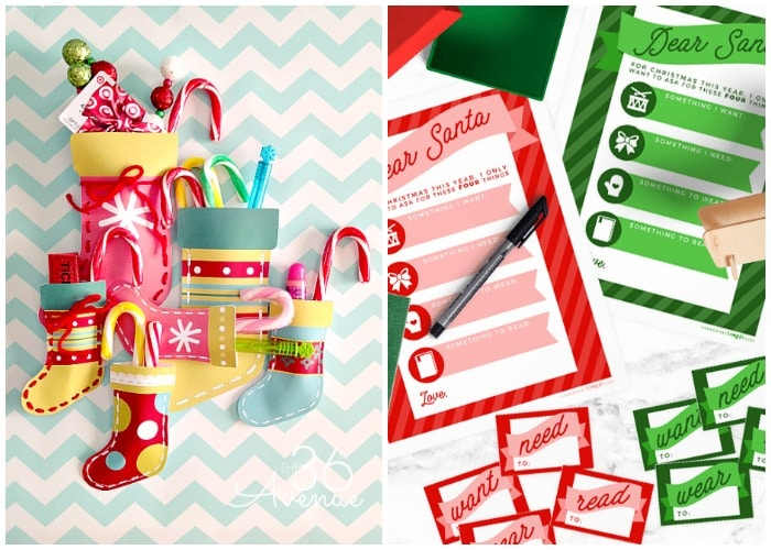 10 Favorite Free Christmas Printables