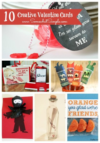 Make Your Own Valentine Cards- 10 Creative Ideas