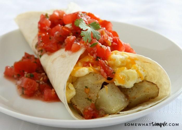 Breakfast Burritos – A Simple, Delicious Meal!