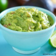 This simple recipe for speedy guacamole recipe is the perfect dip for your next party!