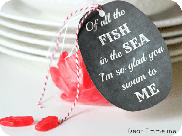 fish in the sea valentine