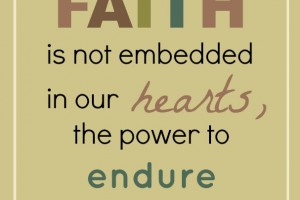 foundation of faith