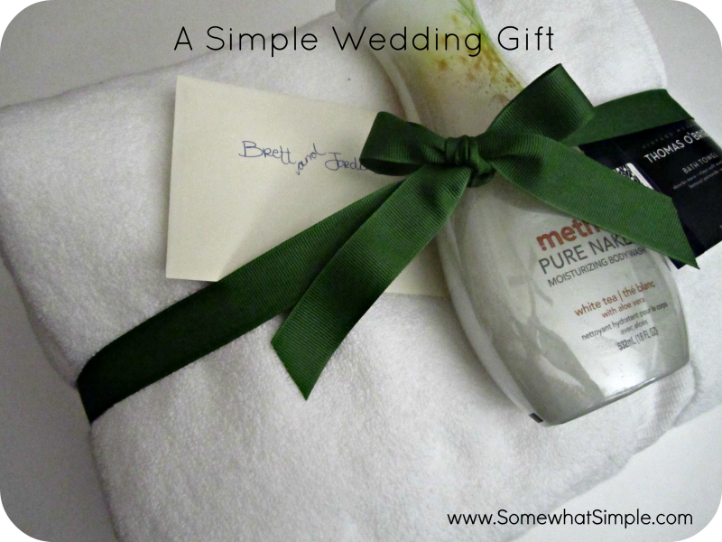 Practical Wedding Gift: A Real Simple Wedding Gift