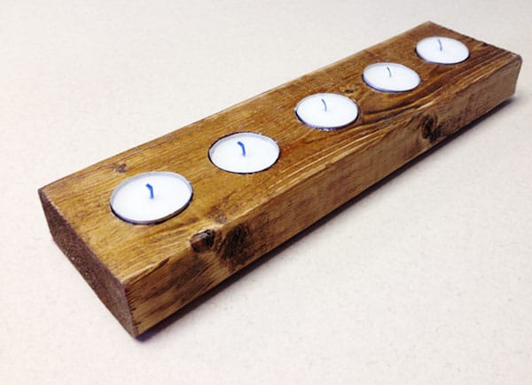 Diy A Quick And Quirky Candleholder