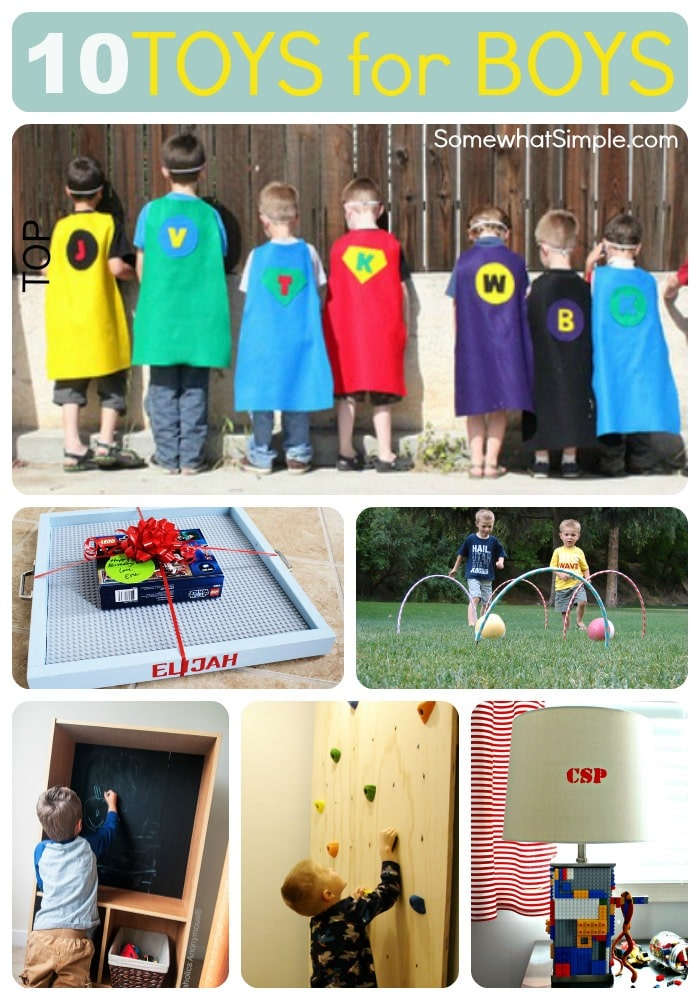 2013 Best Toys For Boys : Toys for boys great diy gift ideas somewhat simple