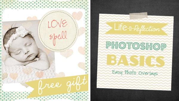 Photoshop Basics: Easy Photo Overlays