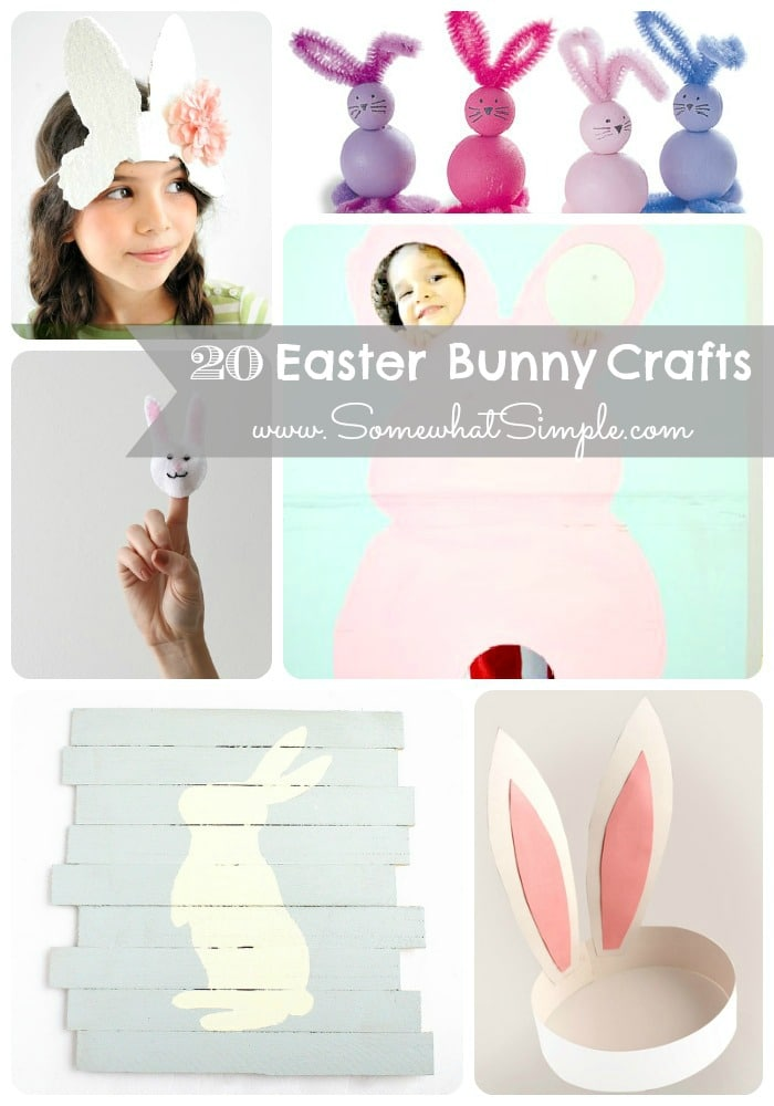 20 Easter Bunny Crafts
