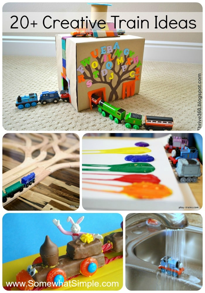 link party with creative train ideas for kids somewhat