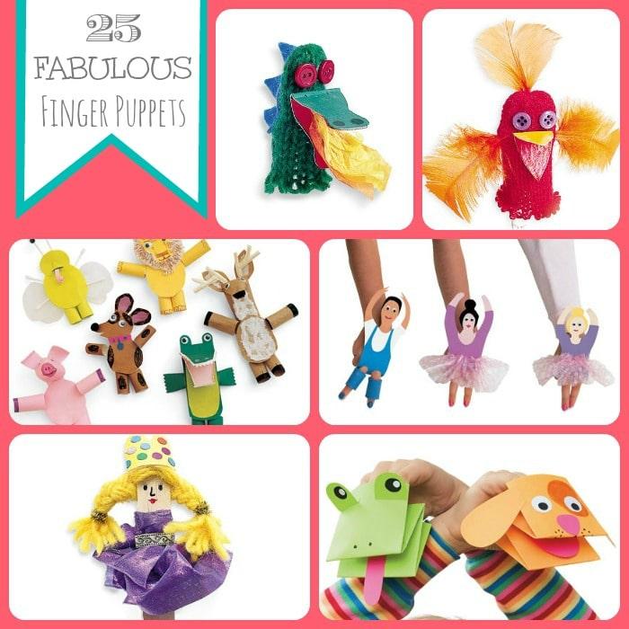 20 fabulous puppets
