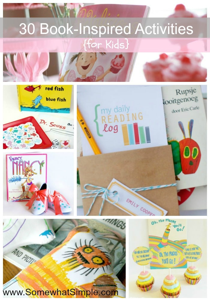 30 kids book activities