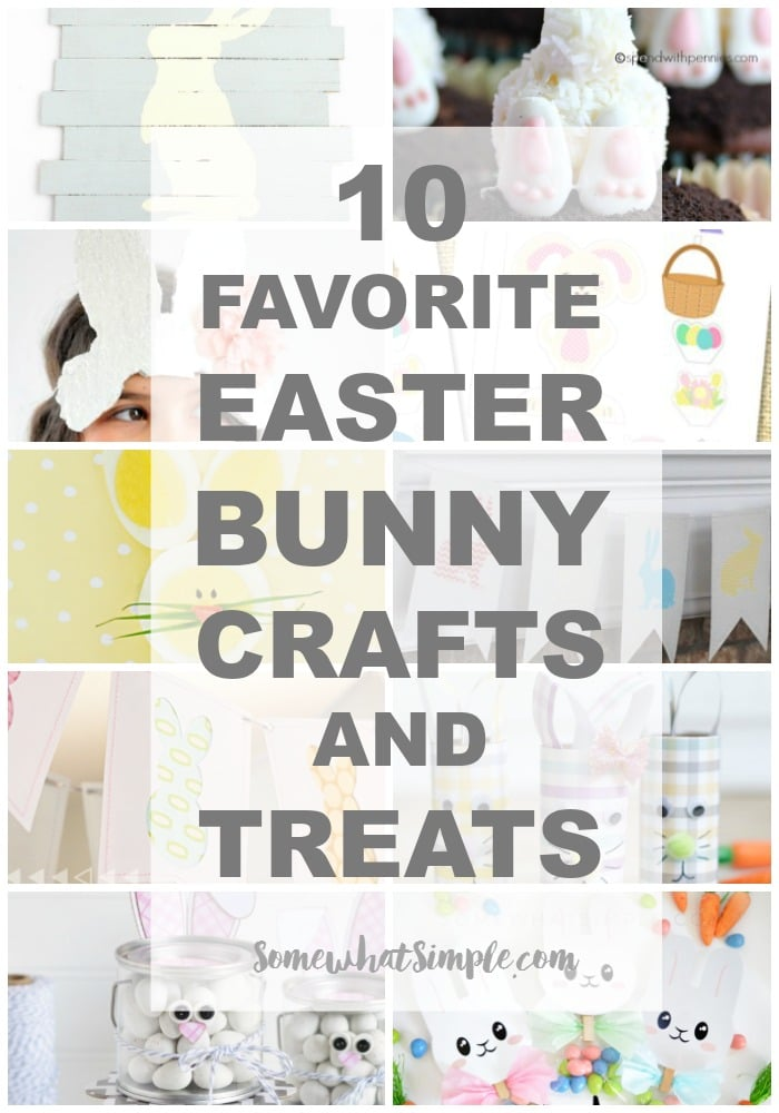 Easter Bunny Crafts - Somewhat Simple