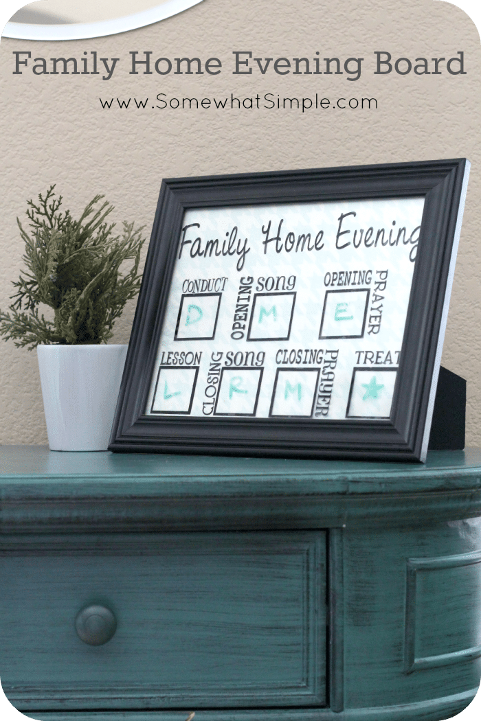 family home evening board 1