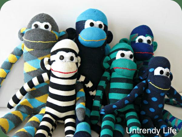 sewing tutorials sock monkeys