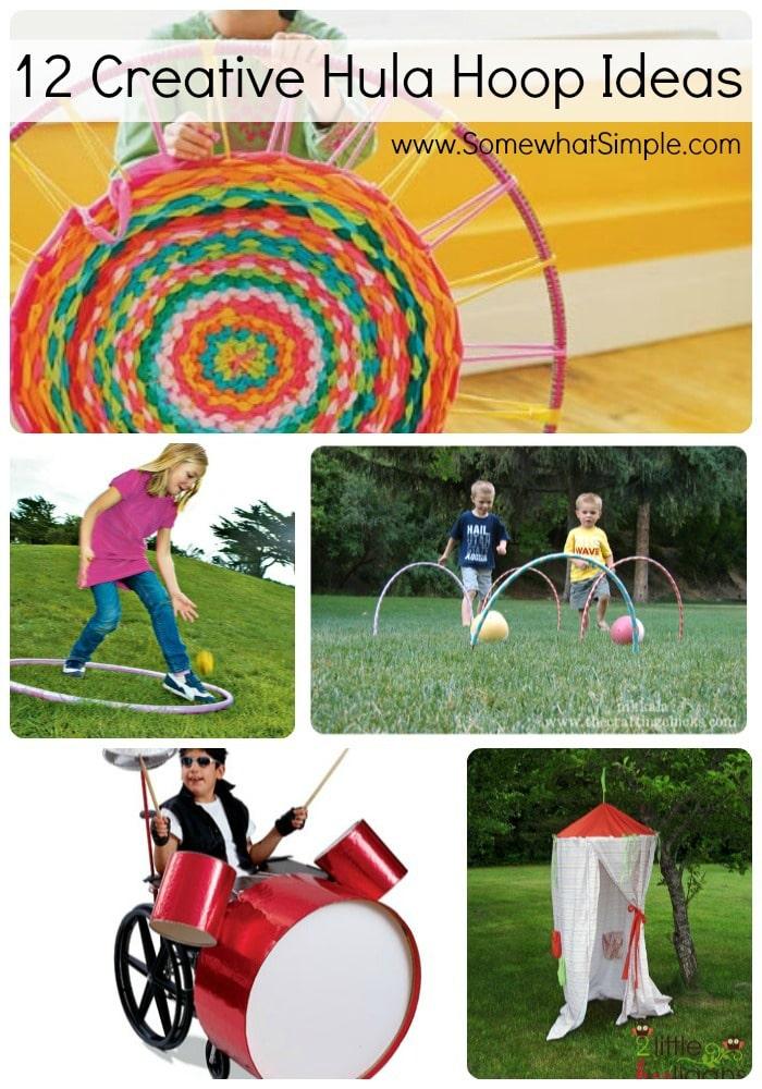 12 hula hoop ideas