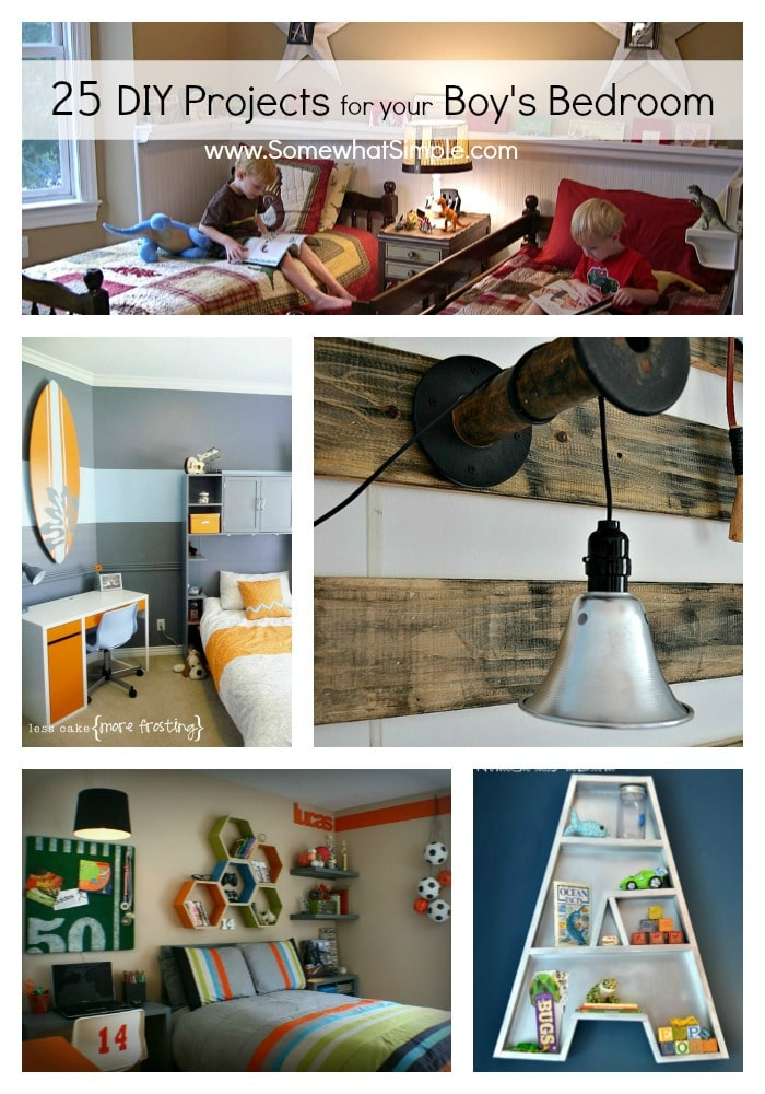 diy boy bedroom projects 25 ideas that your boy will love somewhat
