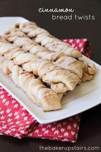 Cinnamon Bread Twists