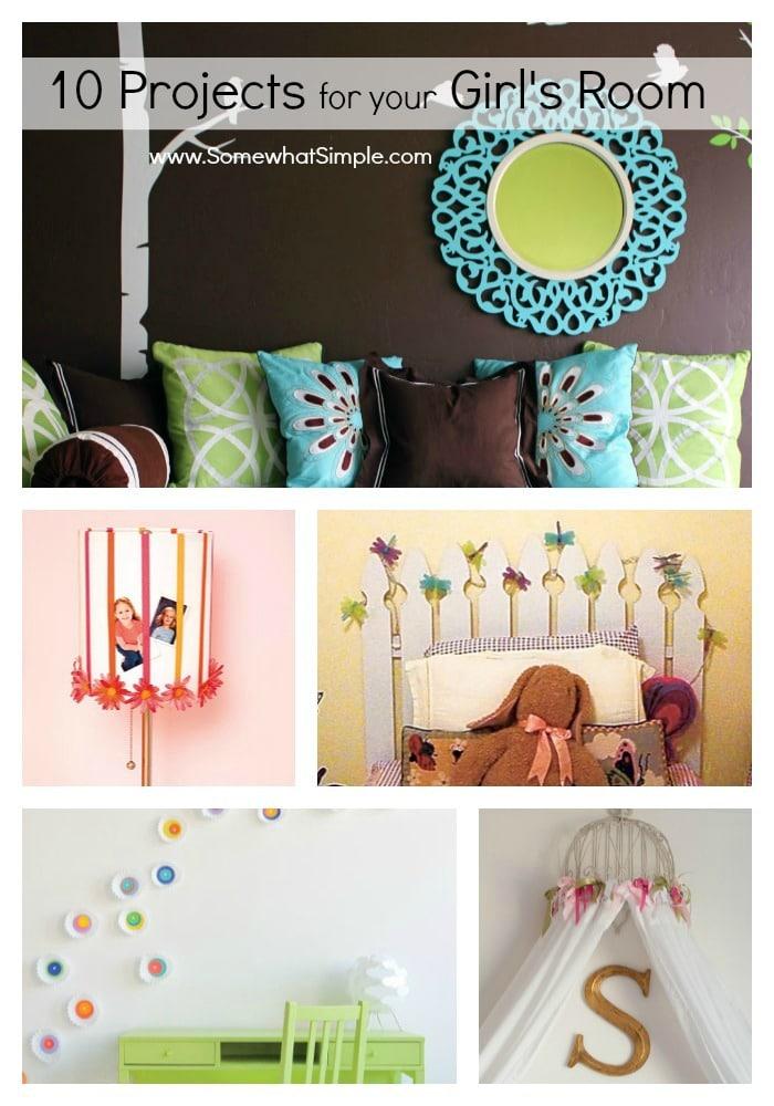 Girls Bedroom Ideas Somewhat Simple