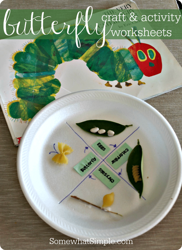 Monarch Butterflies Craft And Activity Book Somewhat Simple
