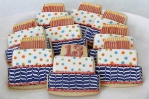 birthday cake cookies 1