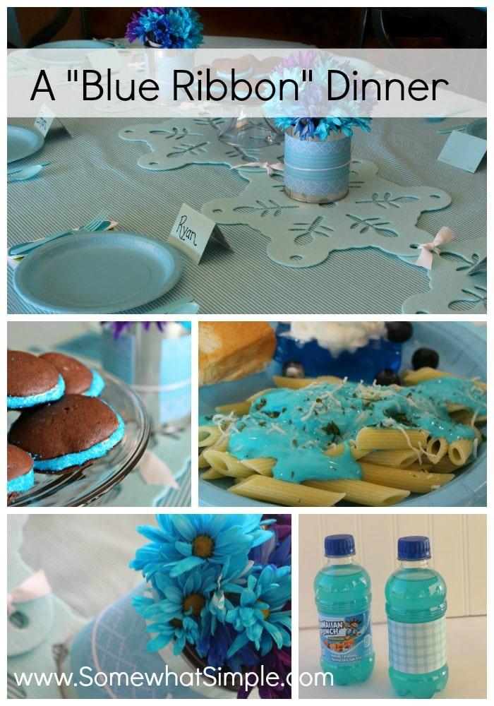 blue ribbon dinner