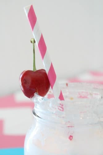 Fresh Cherry Lemonade Slush Recipe