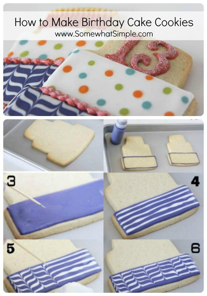 how to make birthday cake cookies