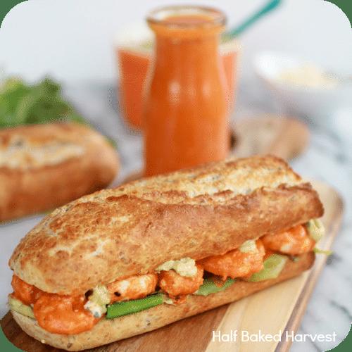 Amazing Buffalo Shrimp Sandwich Recipe