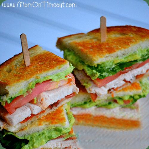 Grilled California Turkey Club Recipe