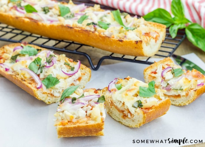 BBQ Chicken French Bread Pizza – An Easy Family Dinner