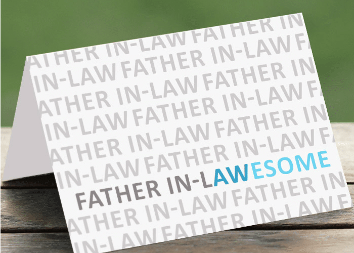 Father In-Law Card