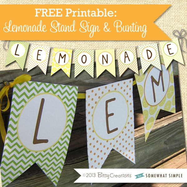 free lemonade printable 3
