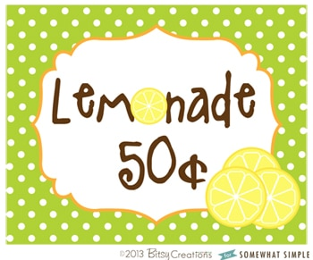 LemonadeSign