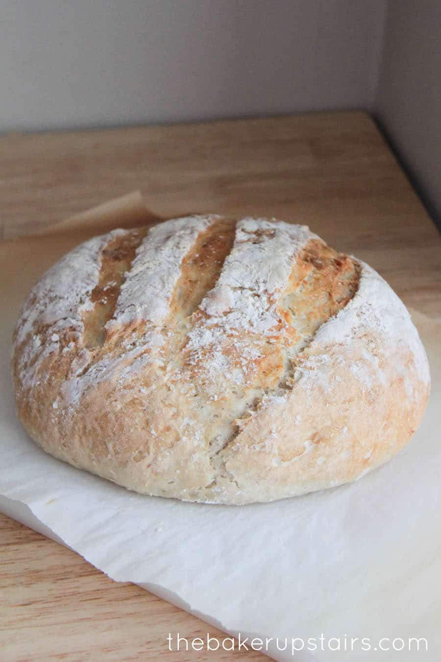 Quick & Easy Crusty Artisan Bread - Somewhat Simple
