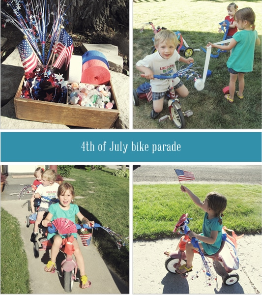 Fourth Of July Bike Parade Invitation Printable Somewhat Simple