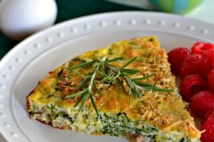 scrambled egg casserole title