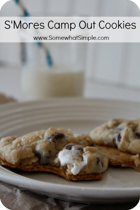 mores cake cookies giant s mores chocolate chip cookies s mores ...