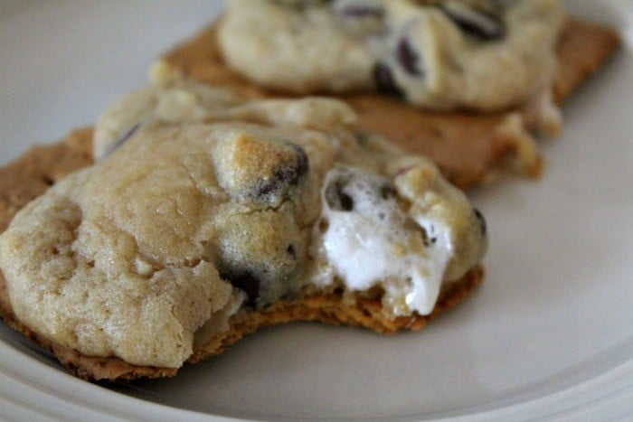 Camp Out Smores Cookies