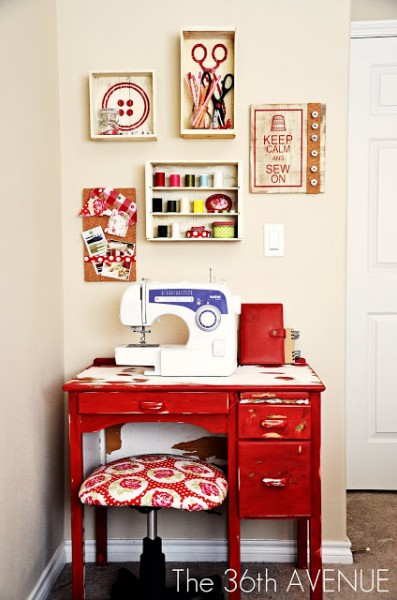 Sewing room ideas somewhat simple Sewing room ideas for small spaces