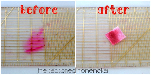 Seasoned Homemaker Sewing Tip