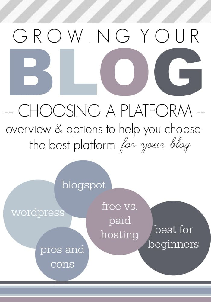 Choosing The Best Blog Platform