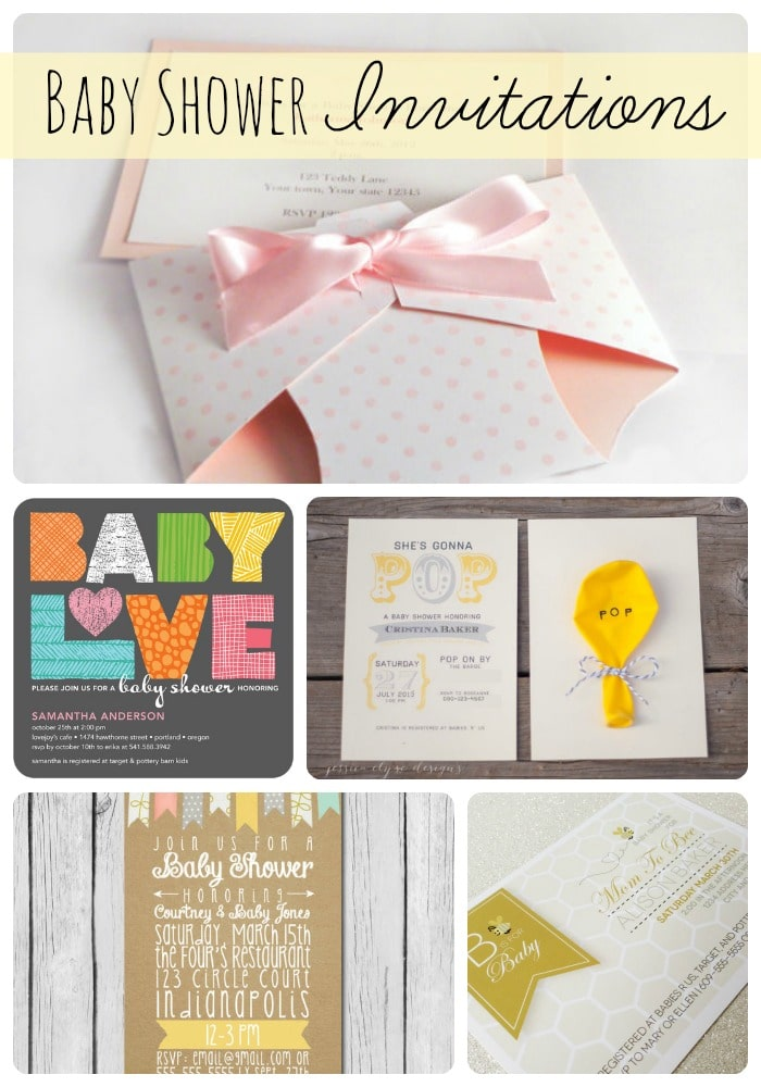 some cute baby shower invitations for my friend s twin baby shower