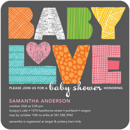 baby shower invitations 1