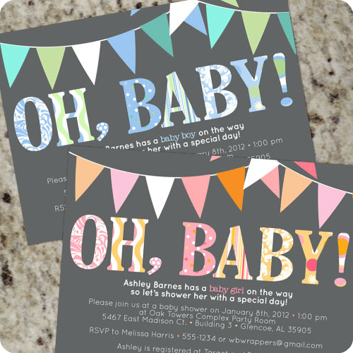 baby shower invitations 3