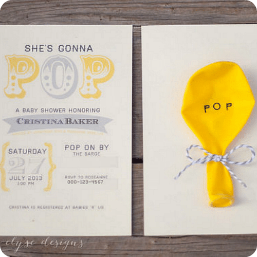 baby shower invitations 4