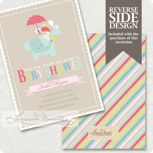 baby shower invitations 7
