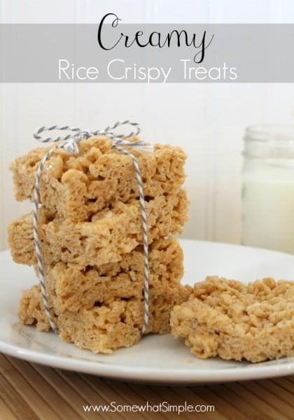biscoff rice crispie treats 2